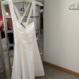 White Sun Dress From Victoria Secret